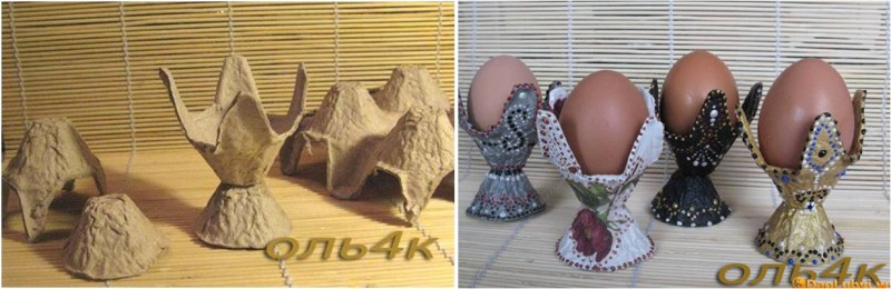 Подставка из-под яиц