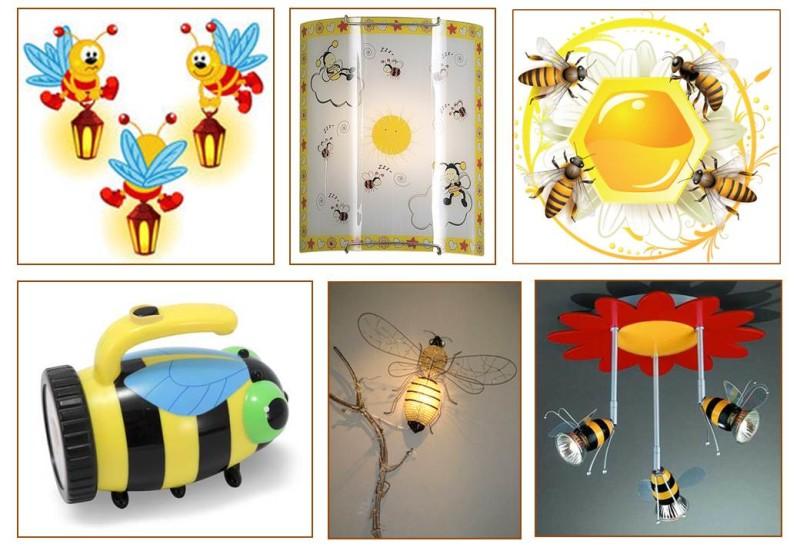 Лампа-пчела